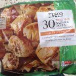 Tescos Meat Free Sausage Rolls