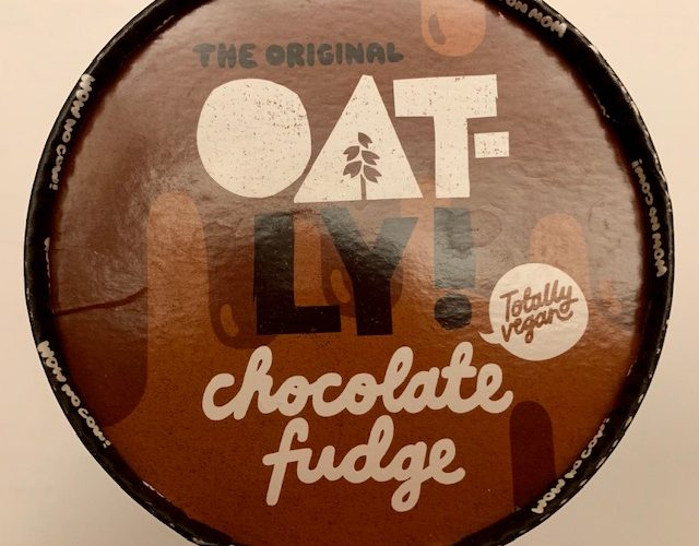 Oatly! Chocolate Fudge – he only went to get some mushrooms!